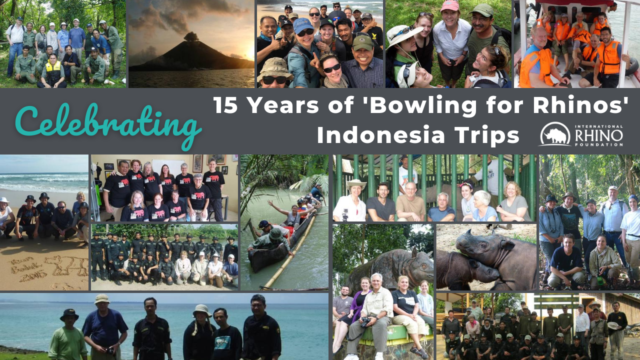 Celebrating 15 Years of 'Bowling for Rhinos' Indonesia Trips