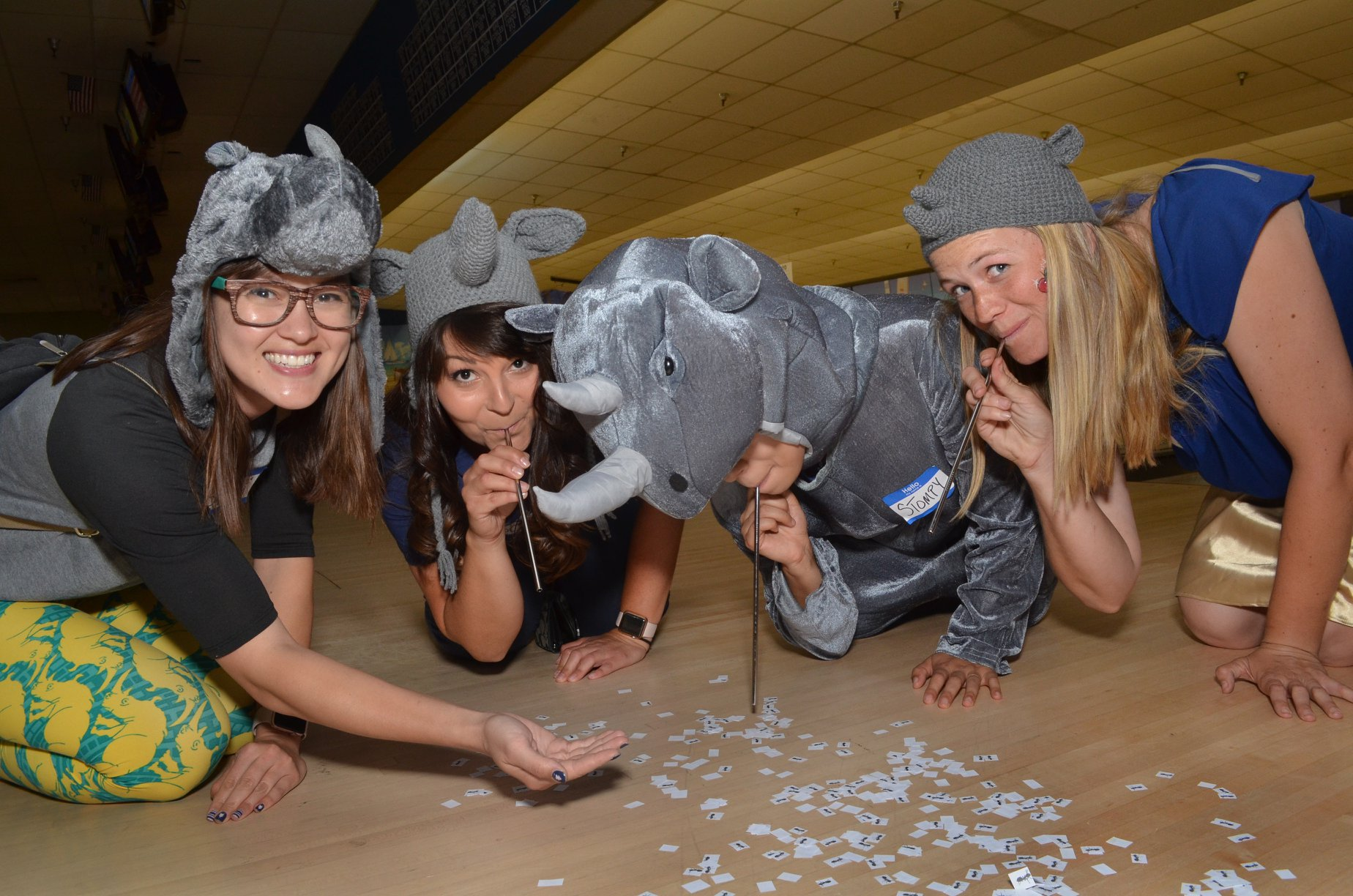 San Diego Zoo, Bowling for rhinos, rhino conservation