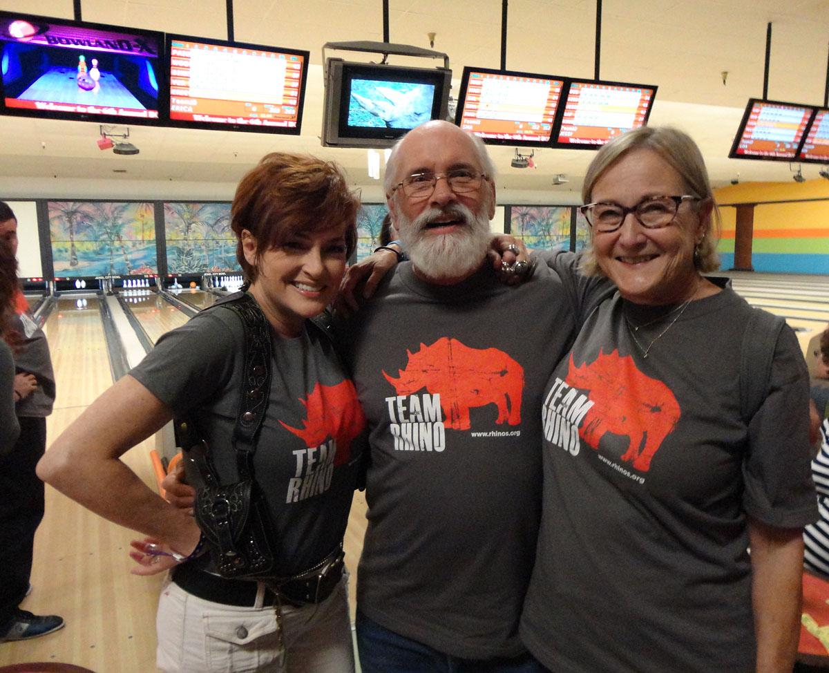 Bowling For Rhinos, LA Zoo, #TeamRhino Shirts