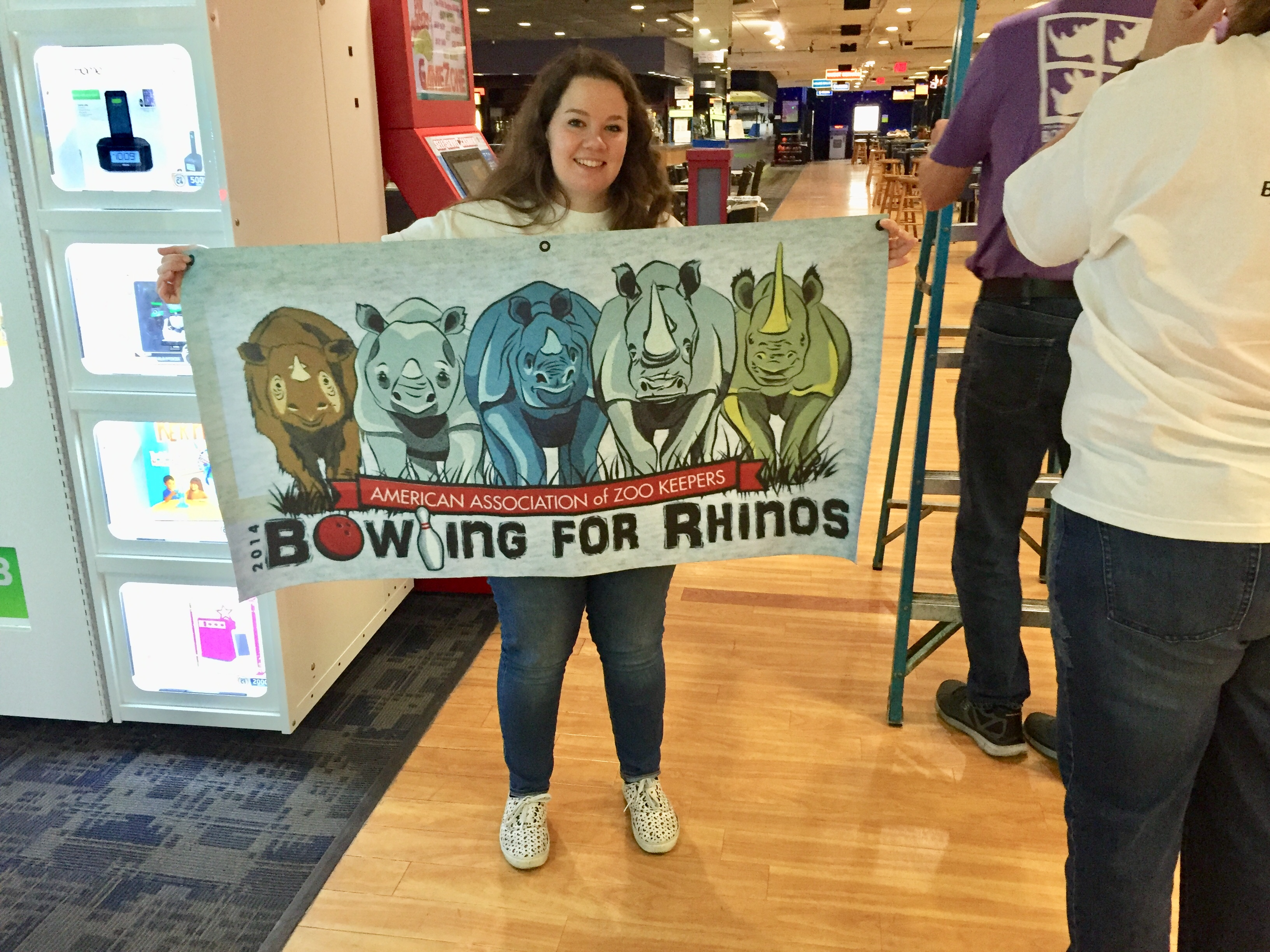 Tampa Bay AAZK, Bowling for rhinos, rhino conservation