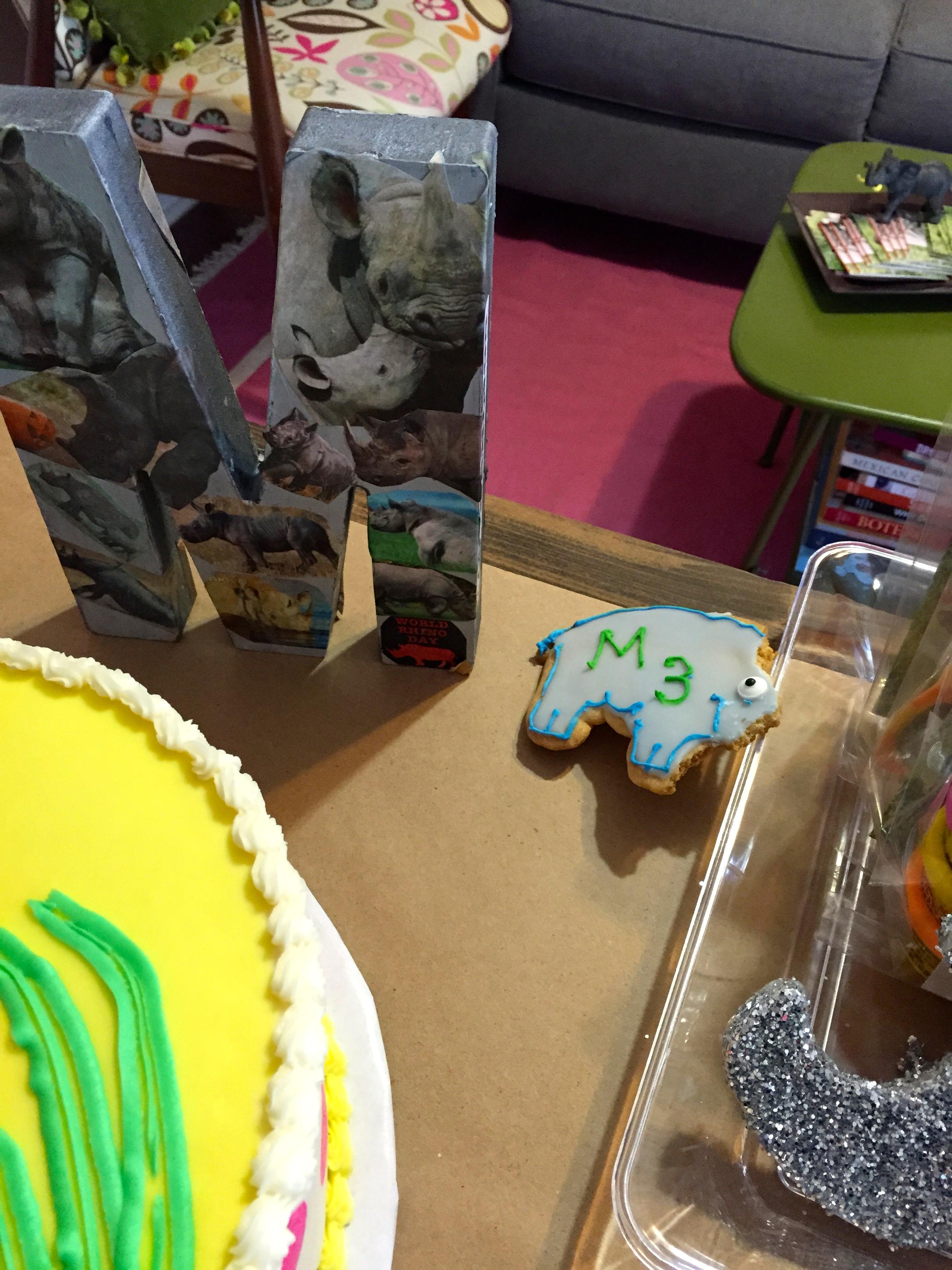 Milagro's Rhino Fundraiser