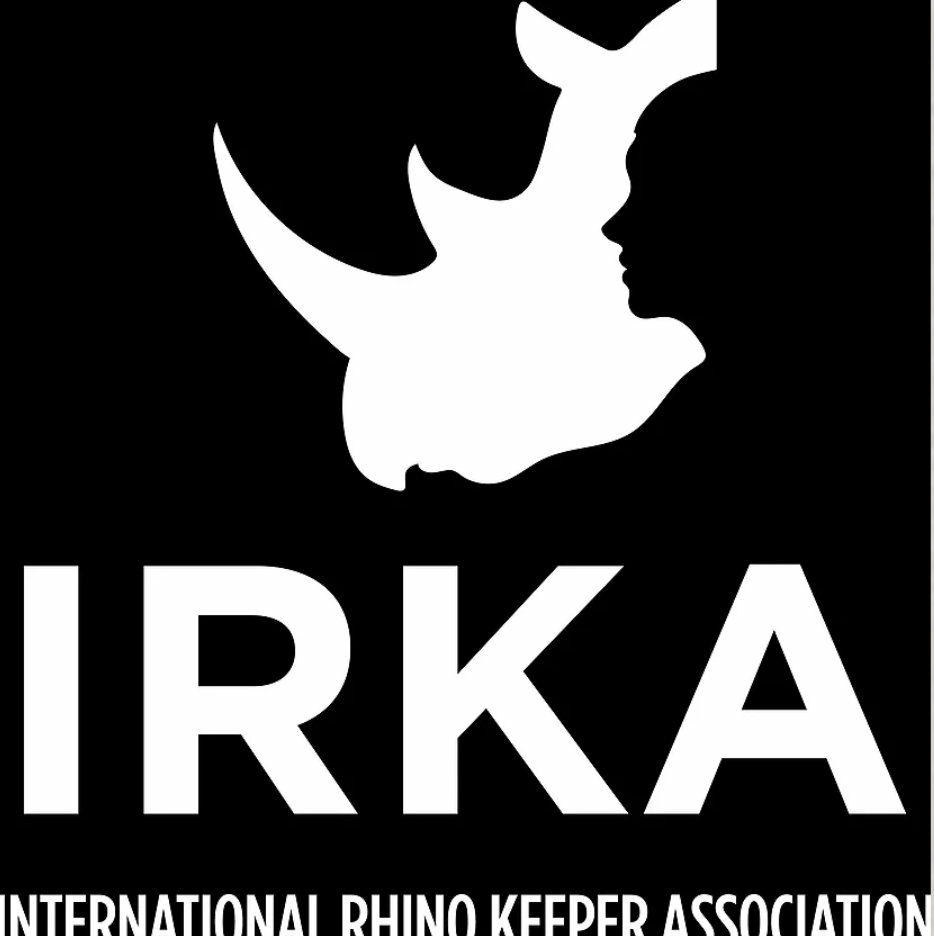 International Rhino Keeper Association logo, Peppermint Narwhal
