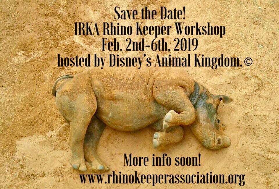International Rhino Keeper Workshop