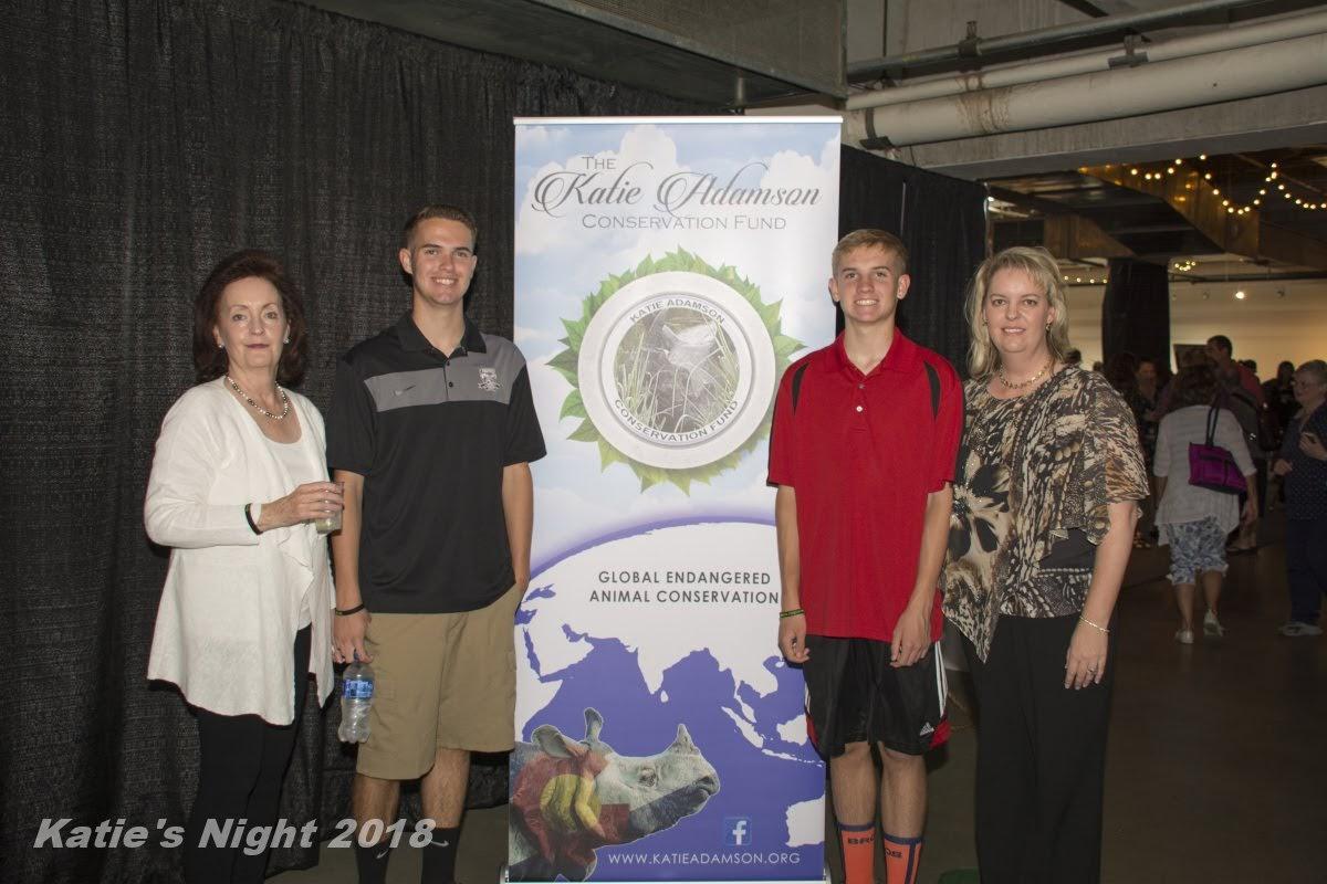 Katie Adamson Conservation Fund, Katie's Night, Rhino Conservation