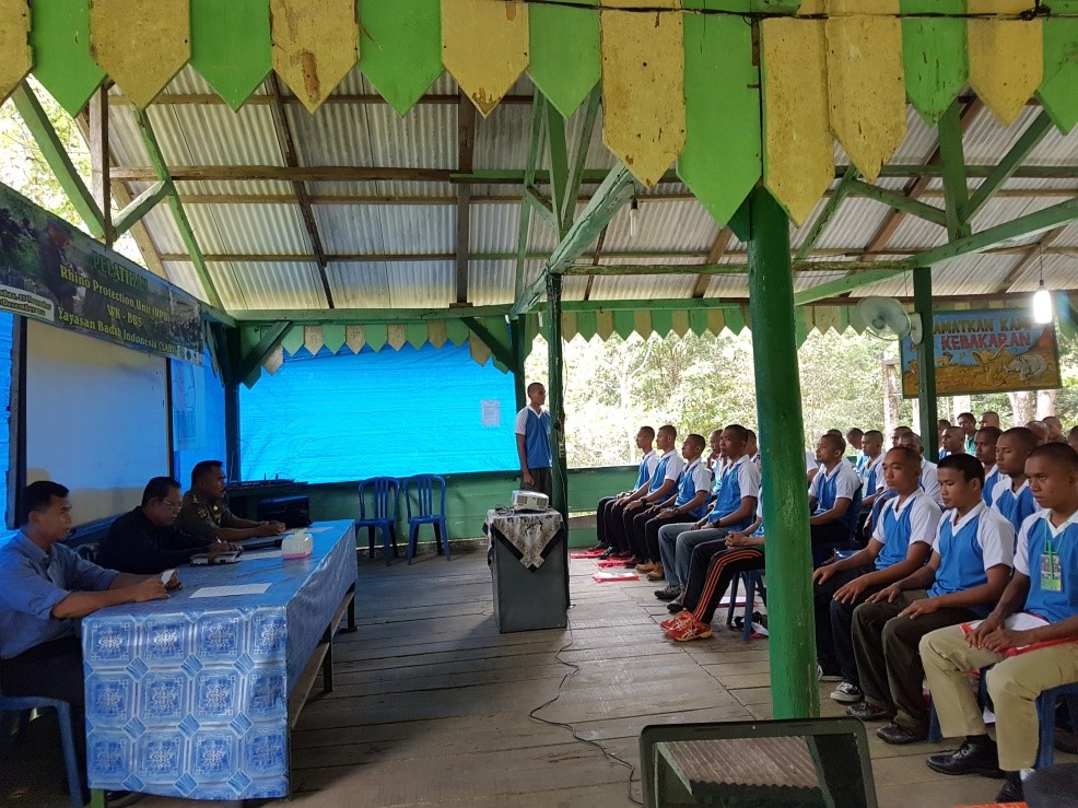 RPU candidates receive classroom training.
